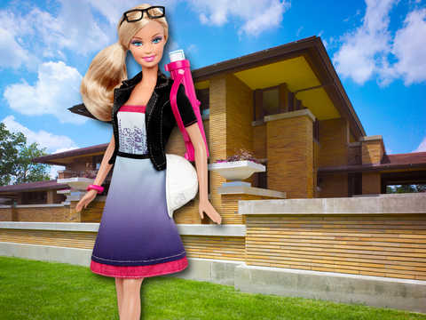 Views, Dorte Mandrup, Barbie, girl, female architect