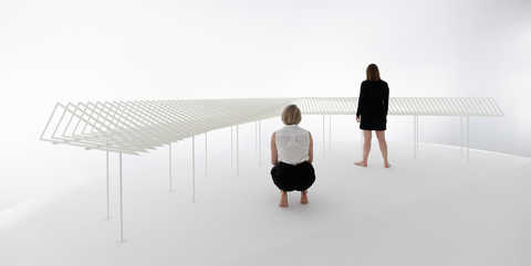 "Dorte Mandrup's design for the Venice Biennale 2018 main exhibition named ""Conditions"""