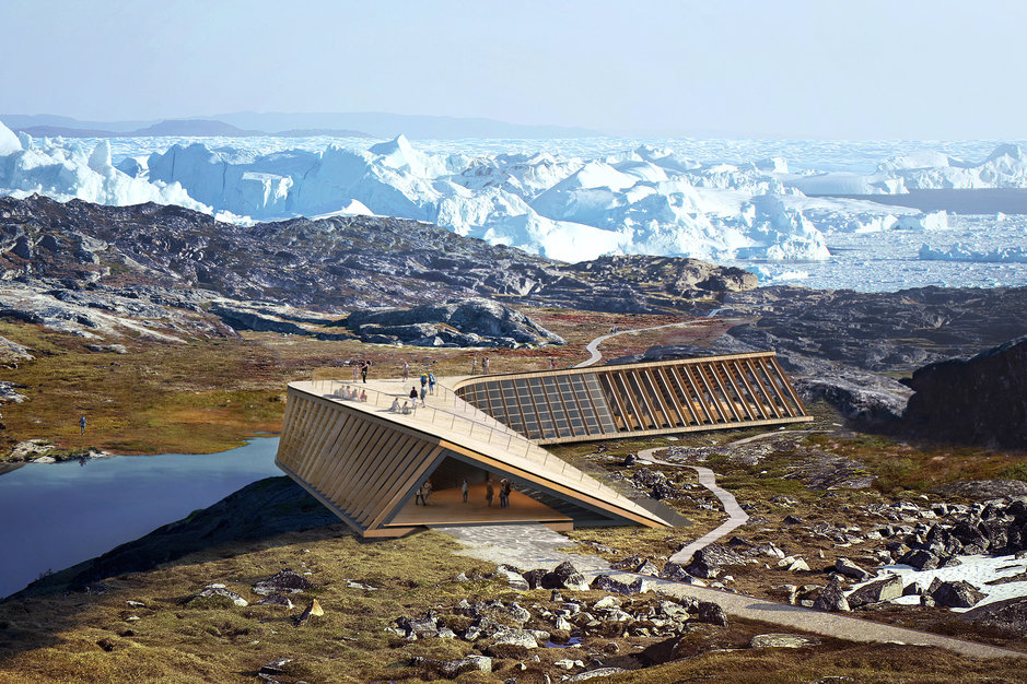 Icefjord Centre, greenland, Realdania, ilulissat, climate, centre